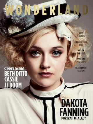 Wonderland Magazine - Dakota Fanning Issue