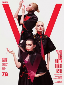 V Magazine - The Youth Quake Issue