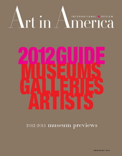 Art In America - Issue August 2012