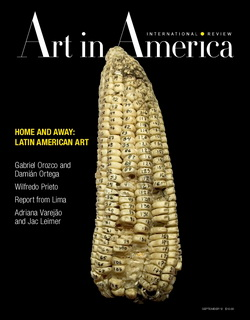 Art In America - Issue September 2012